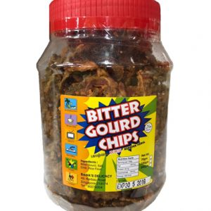 Bawa's Bitter Gourd Chips