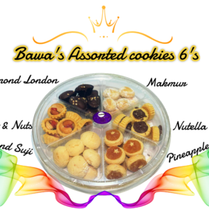 Bawa's Assorted Cookies 6's