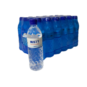 Misty Pure Drinking Water 500ml x 24 Bottles (Free Delivery)